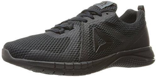 Reebok Men's Print 2.0 Running Shoe, Black/Lead, 8.5 M - Perimeter At Stores