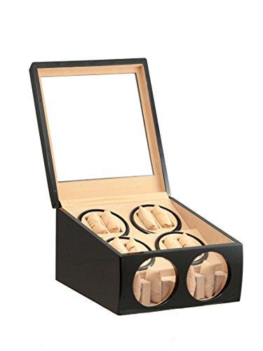 8-4-black-wood-automatic-dual-quad-watch-winder-display-storage-box