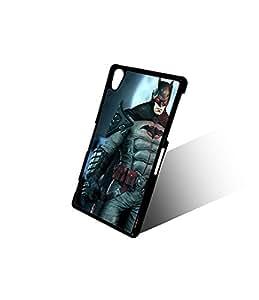 Slim Xperia Z2 Funda Case Superhero Batman DC Comics Custom Printed On Hard Funda Case Cover Protector For Sony Xperia Z2