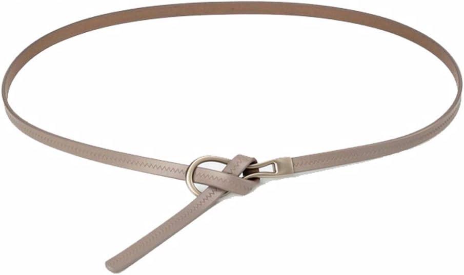 Adjustable Leather Belts Knot Fashion Skinny Minimalism Decorative Waist Strap