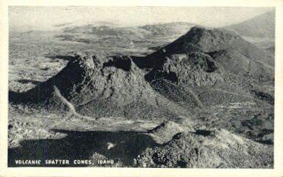 Volcanic Spatter Cones, Idaho -