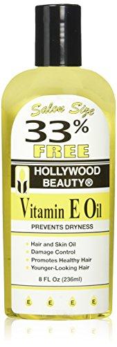 Hollywood Beauty Vitamin E Oil Bonus, 8 Ounce