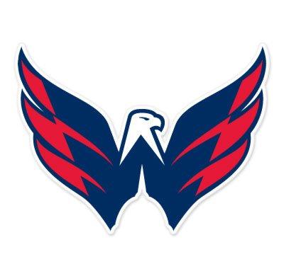 "Washington Capitals NHL car bumper sticker decal (5"" x 4"")"