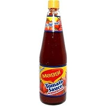 Maggi Authentic Indian Tomato Sauce - No Onion No Garlic - 500g., 1.1lb