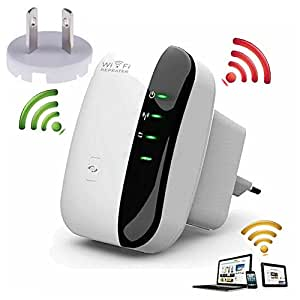 300Mbps WiFi Signal Range Booster Wireless Network Extender Amplifier Internet Repeater (AU Plug)