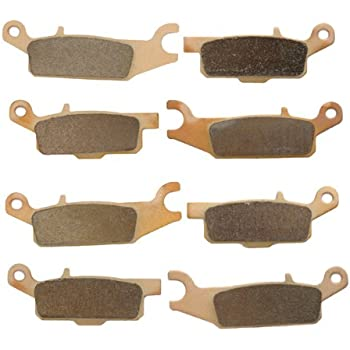 FRONT /& REAR BRAKE PADS YAMAHA Grizzly 700 YFM700F 4WD 2007-2017