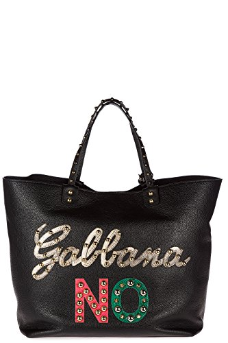 amp; sac femme beatrice en à main Dolce cuir noir Gabbana dfqxnwE6d1