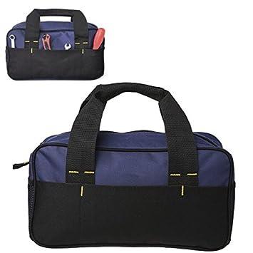 ... 600D Kit de herramientas Bolsa de almacenamiento Heavy Duty Paquete de organizador Portavasos by YMWLKE: Amazon.es: Bricolaje y herramientas