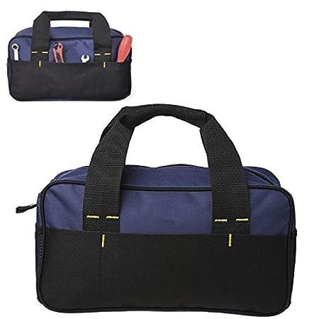 Herramienta DIY Bolsa de almacenamiento de herramientas Bolsa de almacenamiento 600D Kit de herramientas Bolsa de almacenamiento Heavy Duty Paquete de ...