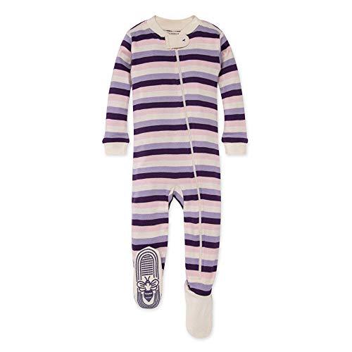 Burt's Bees Baby Baby Girls Sleeper Pajamas, Zip