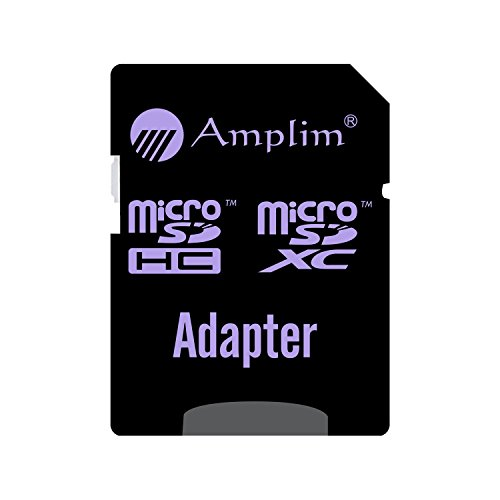 64GB MicroSDXC Card Plus SD Adapter Pack. Amplim 64 GB V30 A1 Ultra High Speed 667X 100MB/s UHS-1 Micro SDXC TF Flash Memory. Class 10 U3 UHS-I MicroSD XC Extreme Pro for Phones, Drones, 4K Cameras by Amplim (Image #5)