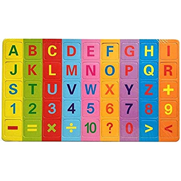 Melissa /& Doug Disney Mickey Mouse Magnetic Chalkboard With 27 Wooden Alphabet Magnets Melissa and Doug 7521