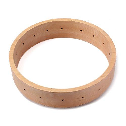 Baoblaze Musically 11inch Maple Banjo Rim for Banjo Instrument Parts Accessories DIY by Baoblaze