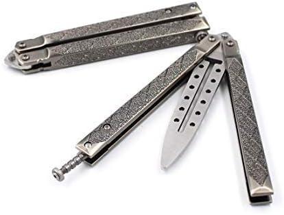 Butterfly Multifunctional Tool Stainless Steel Practice Finger Strength Stick for Beginner Christmas Gift for Men Son Boy