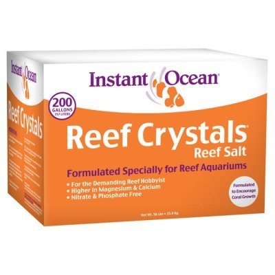 Instant Ocean-Aquarium Systems 200 Gallon Reef Crystals Sea Salt (box)