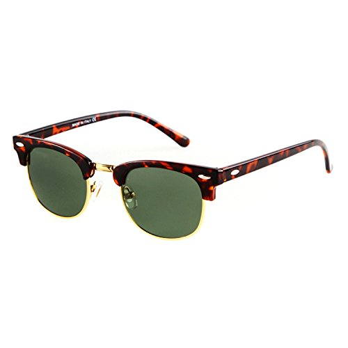 Flowertree Unisex Rs5141 Browline 47mm Sunglasses - Sale For Ray Bans Cheap