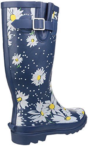 Cotswold Womens/Ladies Burghley Waterproof Pull on Wellington Boots Azul
