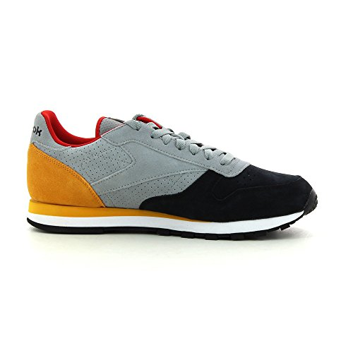 Reebok Classic Men Leather International v66831 nuevo Gris - gris