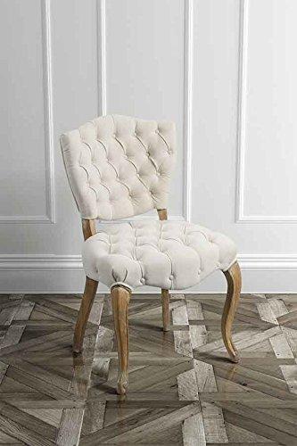 MY-Furniture FRANCOIS - Sedia in stile Francese Luigi: Amazon.it ...