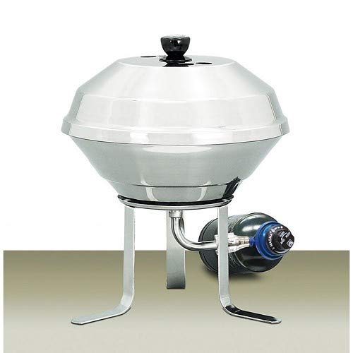 Pedestal Charcoal Stainless Grill (Magma On Shore Stand F/Kettle Grills)