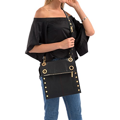 Schwarz Bag Crossbody Women's Black Brushed Reversible Montana Gold Hammitt qdwIvnXtI