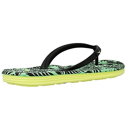 Nike - Solarsoft Thong 2 Prnt - Couleur: Jaune-Vert - Pointure: 28.0