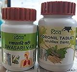 Patanjali Divya Coronil Tablet + Swasari+Anu taila Vati (1 kit )