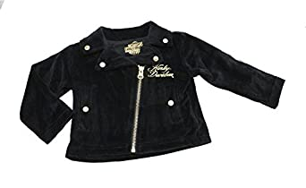 Amazon.com: Harley-Davidson Baby Sequin B&S Velour Biker ...