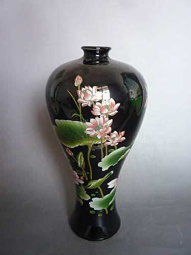BeesClover Rare Collection Qianlong famille Rose Porcelain Lotus vase, Best Collection& Adornment, Show