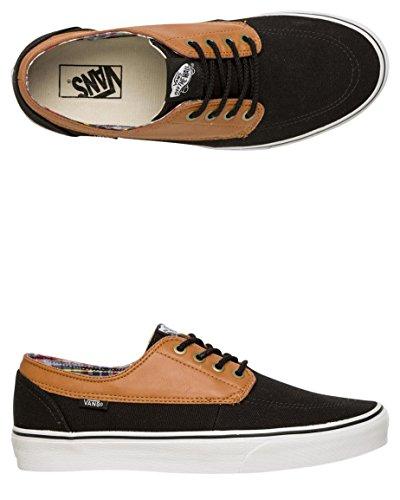 C Sneaker Adulto Brigata Vans True black White amp;l Unisex w5tIZZq