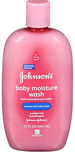 Johnson & Johnson, Baby Moisture Wash, 15 fl oz (443 ml) (2 bottles) by Johnson's Baby