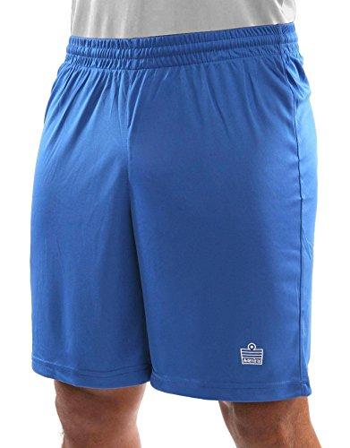 Admiral Club Ready-to-Play Soccer Shorts, Royal/White, Adult Medium