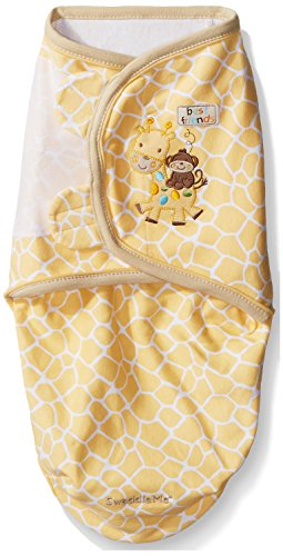Applique Sleepsack - Summer Infant SwaddleMe Pure Love Adjustable Infant Wrap, 7-14 pounds, Joy Full Giraffes