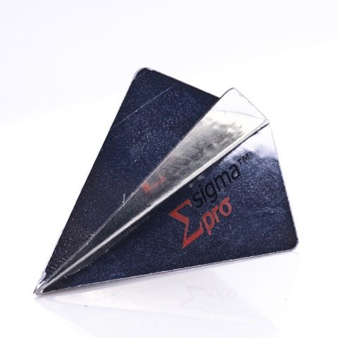 - 3 x SETS UNICORN SIGMA PRO SILVER DARTS FLIGHTS