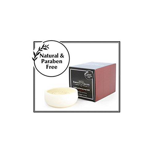 (Edwin Jagger Shaving Soap Refill, Sandalwood, 3-Pack)
