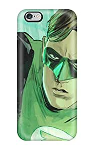 New Style 6796290K30757785 Iphone 6 Plus Green Lantern Tpu Silicone Gel Case Cover. Fits Iphone 6 Plus