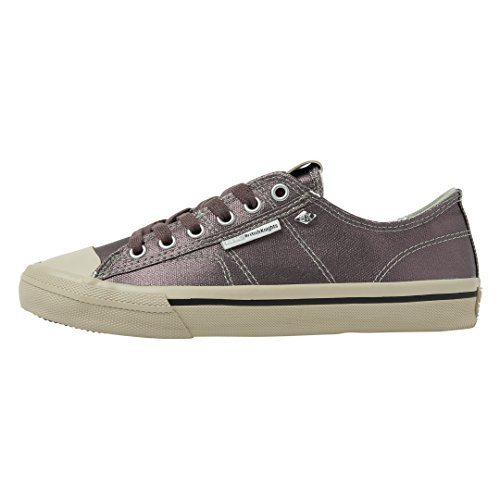 British Knights WoMen Chase Trainers, Silver Dk Grey