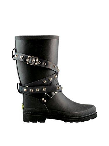 Botas in gomma - 788-rbrstudsw Black