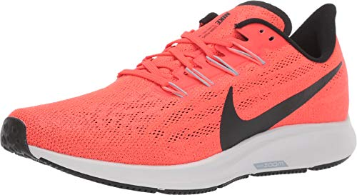 Nike Men's Air Zoom Pegasus 36 Running Shoes (7.5 D US, Bright Crimson/Black/Vast Grey)