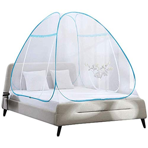 - Sanzhizhu Mosquito Net Dust top Zipper Drop Children 1.5/1.8m Bed 2 m Household encryption Thickening Princess Wind
