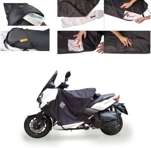 pour MBK EVOLIS 125 ABS 2016 16 Termoscudo Tucano Urbano R167-X Couvre-Jambes sp/écifique pour Scooter Couverture Thermique imperm/éable