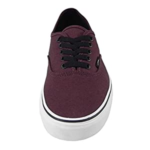Vans Unisex Authentic Port Royale Red/Black Sneaker - 7.5