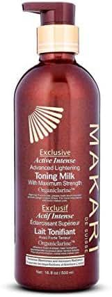 Makari Exclusive Skin Lightening Toning BODY MILK Lotion 16.8oz