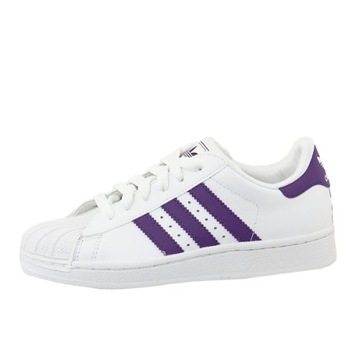 Adidas - SuperStar 2 K - Talla : 40 - Color : Blanco: Amazon.es: Zapatos y complementos