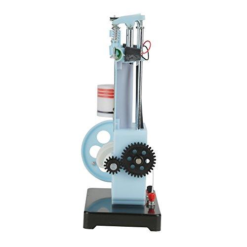 4 Stroke Internal Combustion Engine Model Diesel Engine Model Four-Stroke Single-Cylinder Diesel Engine Model for Physics Mechanics Experiment Teaching Instrument