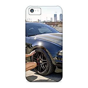 New Mialisabblake Super Strong Knight Rider Tpu Case Cover For Iphone 5c