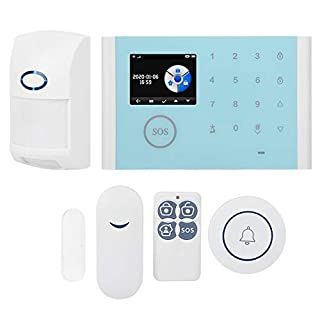 GSM Burglar Alarm System 5V Pet-Proof Infrared Detector, Wireless Door Magnetic, Wireless Wifi for Remote Control Anti-Theft