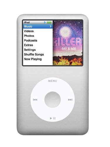 Apple iPod Classic 160 GB Silver (7th Generation)