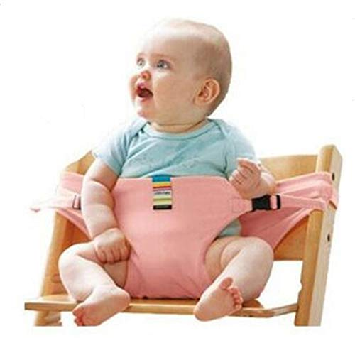 ravel Booster Seats,Baby Portable Travel High Chair Booster Baby Seat with Straps Toddler Safety Harness Baby Feeding Strap ()