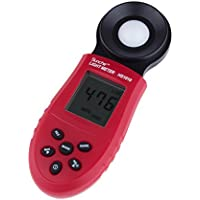 Sunche Digital Light Meter HS1010 Professional Illuminance Light Meter Illuminometer Luxmeter Photometer 200000 lux